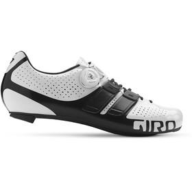 Giro Factor Techlace schoenen Heren wit/zwart